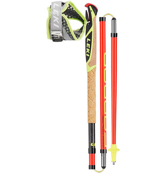 Leki Micro Trail Pro Batons 3 Brins + Gantelets