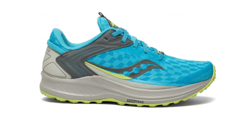 Chaussure Saucony Canyon Tr femme trail running montagne mixte