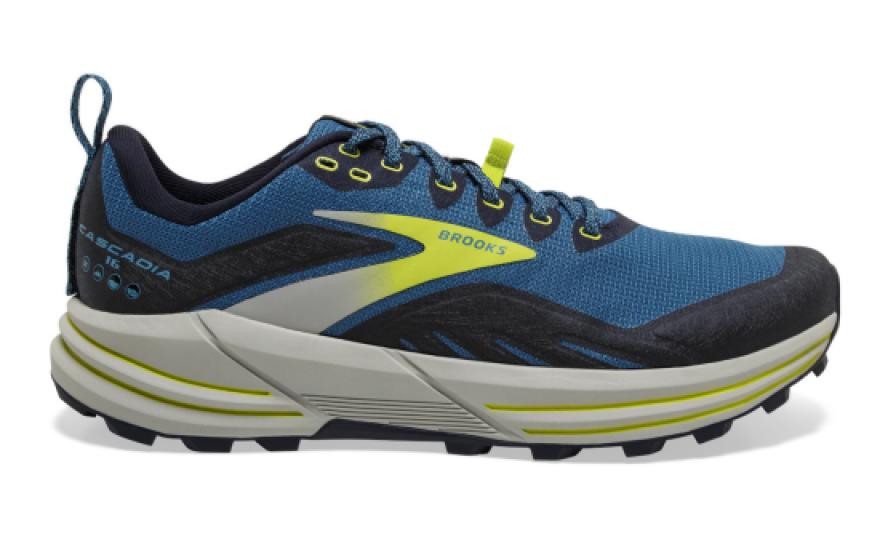 La chaussure Brooks Cascadia 16 pour homme pour le trail running et la montagne