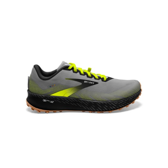 Chaussure Course à Pied Trail Running Montagne Brooks Catamount Homme