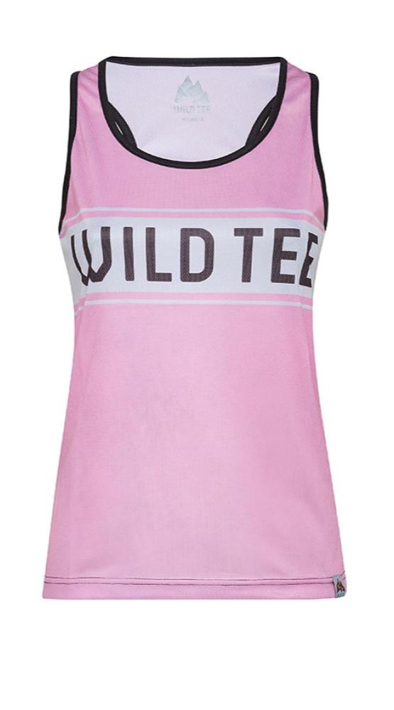 Wild Tee débardeur rose femme