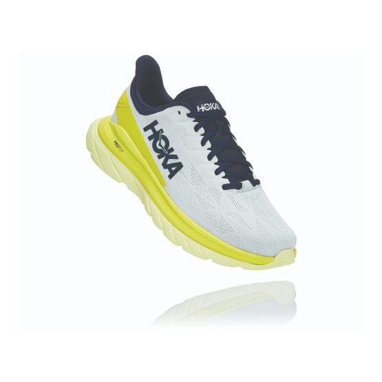 Hoka Chaussure Course à Pied Route Mach 4 Femme