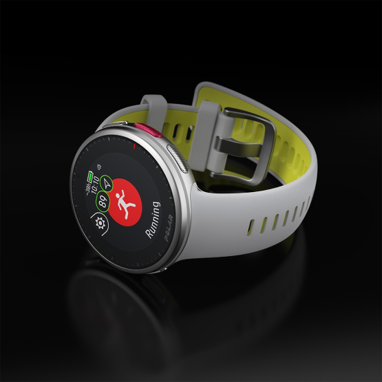 Montre GPS Vantage V2 Polar GREY LIME