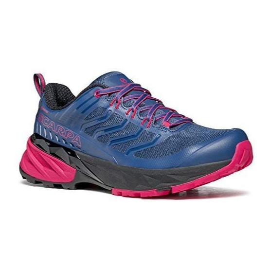 Scarpa Rush GTX Blue Fiesta chaussure Course à pieds Trail Running Femme