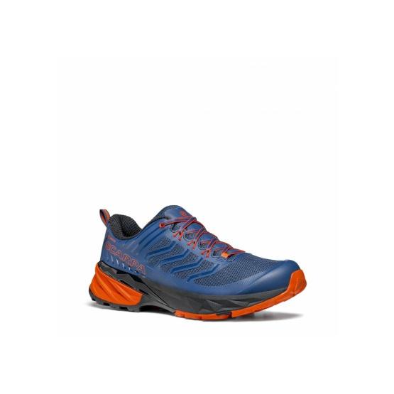 Scarpa Rush GTX Blue Fiesta chaussure Course à pieds Trail Running Homme